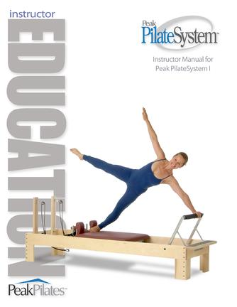 Peak Pilates Instructor Education